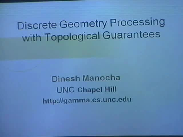 Discrete Geometry Processing with Topological Guarantees Thumbnail