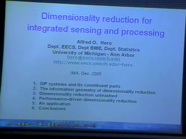 Dimensionality Reduction for Integrated Sensing and Processing Thumbnail