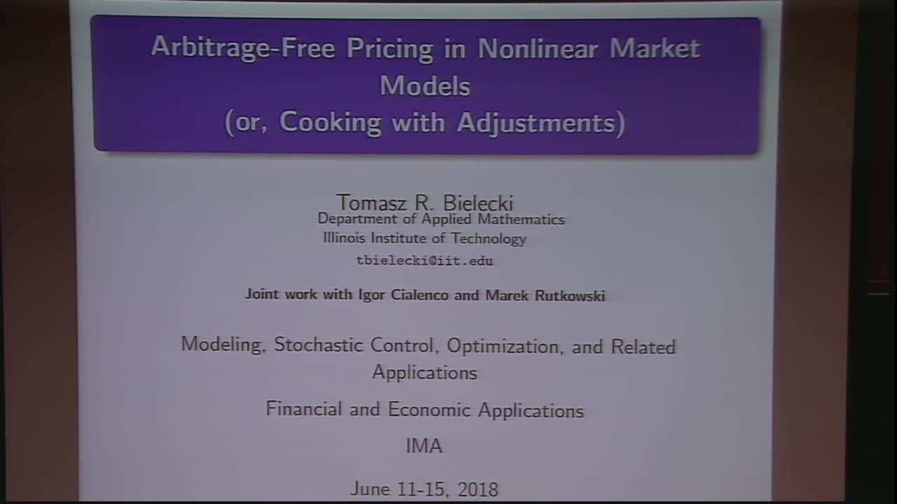 Derivatives Pricing in Nonlinear Models Thumbnail