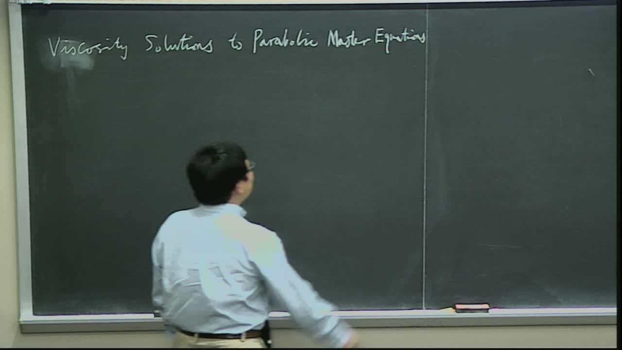 Viscosity Solutions to Parabolic Master Equations Thumbnail
