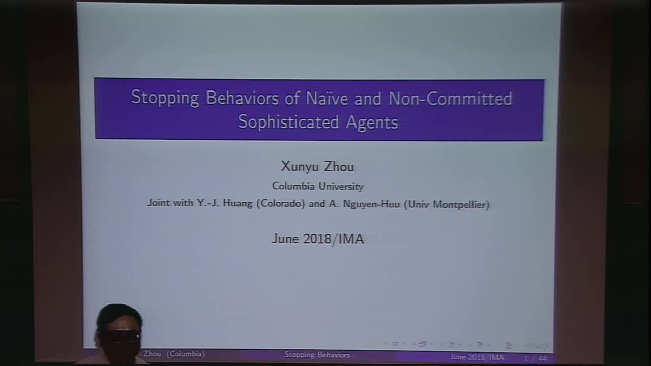 Stopping Behaviors of Naive and Non-Committed Sophisticated Agents Thumbnail