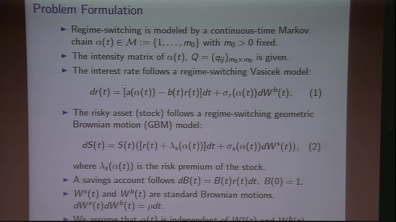 Optimal Asset Allocation with Stochastic Interest Rates in Regime-Switching Models Thumbnail