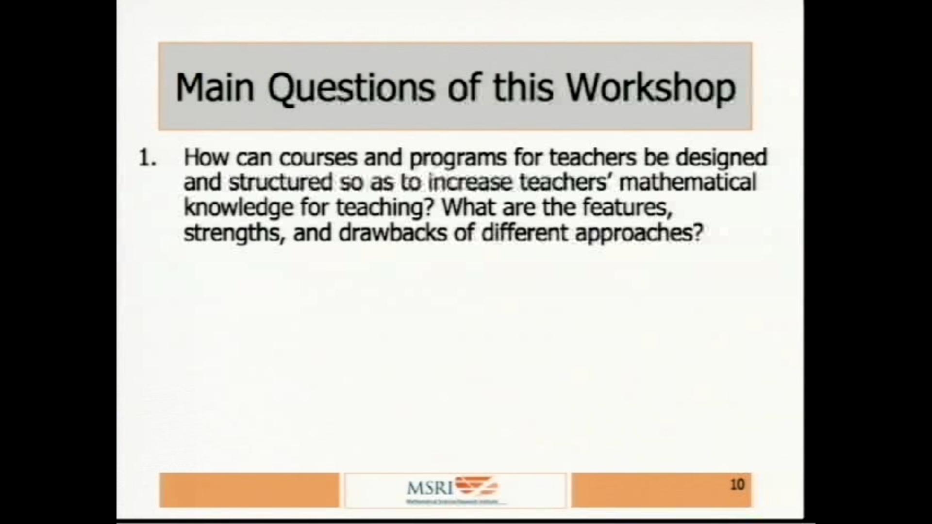 How do we do it? Teaching Mathematics to U.S. Thumbnail