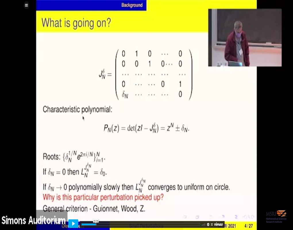 On eigenvectors of perturbed Toeplitz matrices Thumbnail
