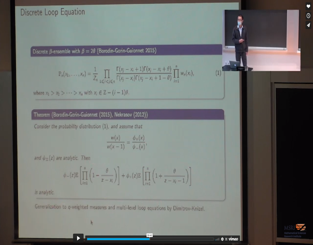 Dynamical Loop Equations Thumbnail