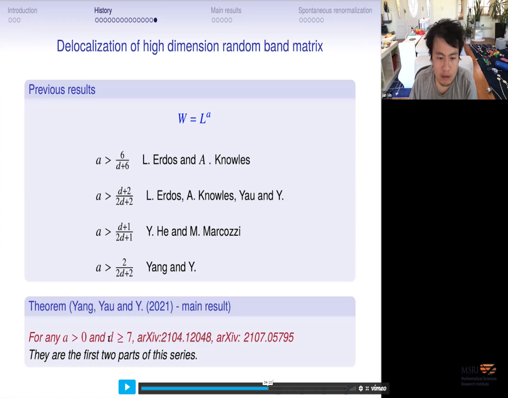 Delocalization of random band matrices in high dimensions Thumbnail